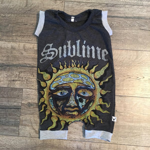 Sublime Punk Rock Romper/Dress/Hoodie, Short Romper Example
