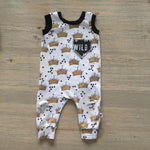 Where the Wild Things Are Crown Pattern Romper/Dress/Hoodie, Sleeveless Romper Example