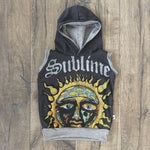 Sublime Punk Rock Romper/Dress/Hoodie, Sleeveless Hoodie Example
