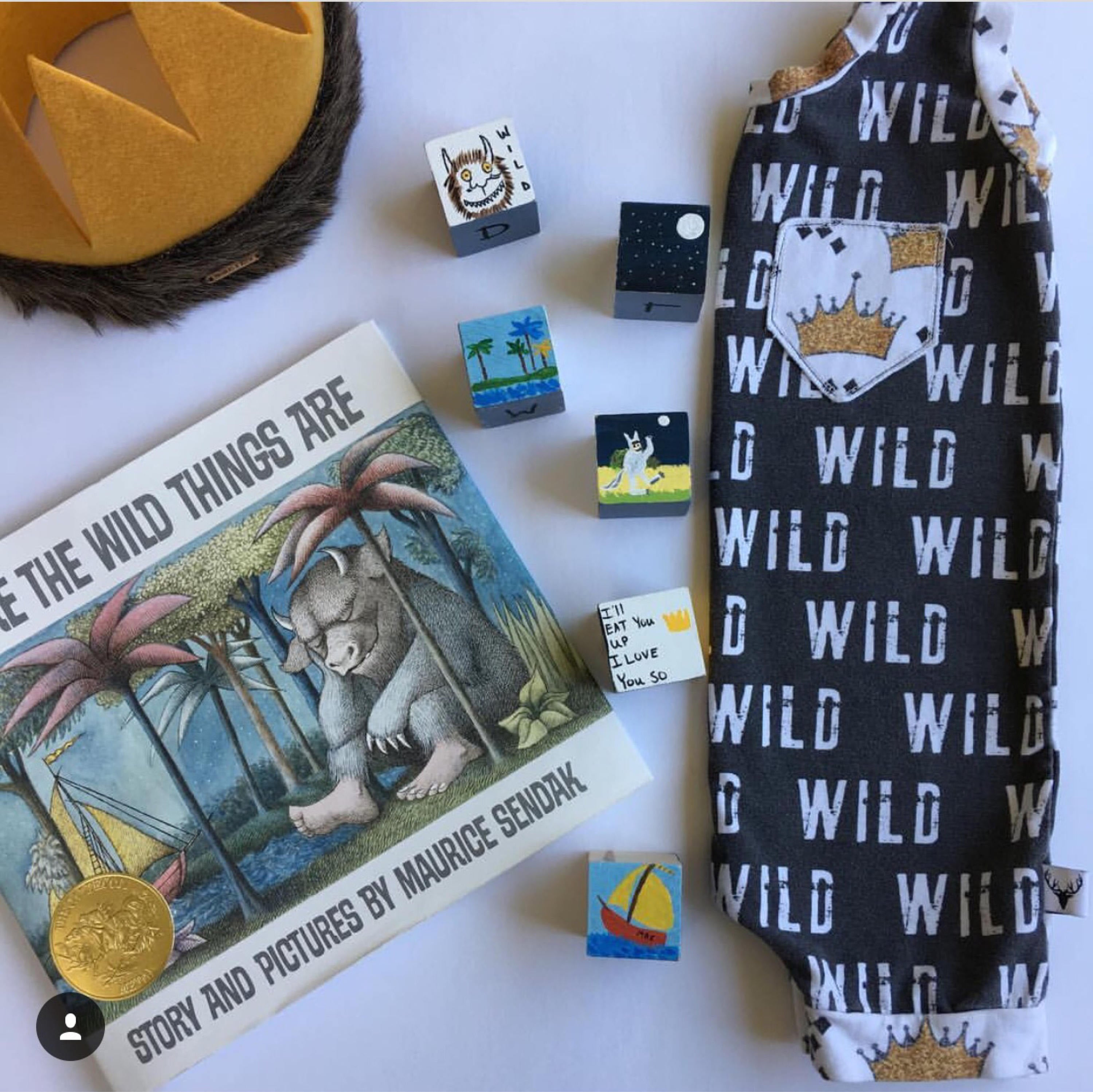 Where the Wild Things Are Wild One Crown Romper/Dress/Hoodie, Short Romper Example