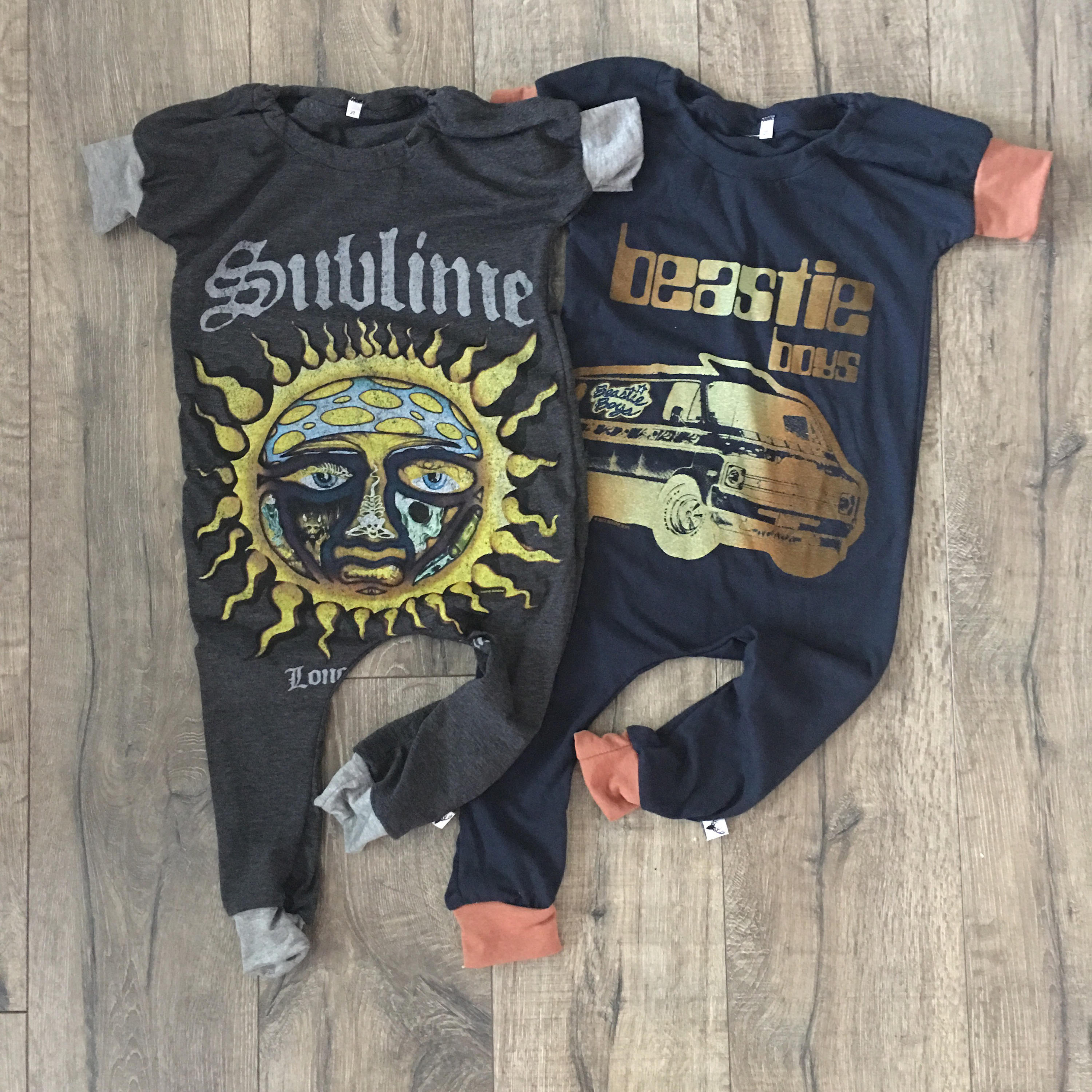 Sublime Punk Rock Romper/Dress/Hoodie, Short Sleeve Romper Examples