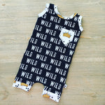 Where the Wild Things Are Wild One Crown Romper/Dress/Hoodie, Sleeveless Romper Example