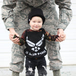 US Air Force Military Hero Romper/Dress/Hoodie