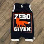 Zero Fox Given Romper/Dress/Hoodie, Sleeveless Romper Example