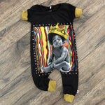 Notorious B.I.G. Biggie Smalls Romper/Dress/Hoodie, Short Sleeve Romper Example