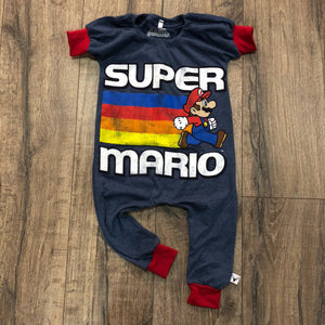 Super Mario Classic Video Game Romper/Dress/Hoodie, Romper Example