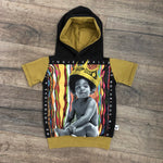 Notorious B.I.G. Biggie Smalls Romper/Dress/Hoodie, Short Sleeve Hoodie Example