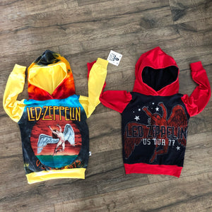 Led Zeppelin Classic Rock and Roll Romper/Dress/Hoodie, Hoodie Examples
