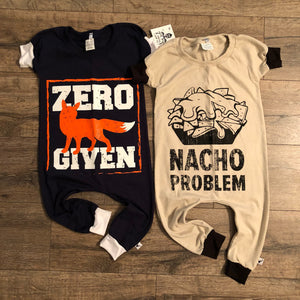 Nacho Problem Funny Romper/Dress/Hoodie, Romper Side by Side