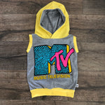 MTV Classic Logo Pop Culture Romper/Dress/Hoodie, Hoodie Example