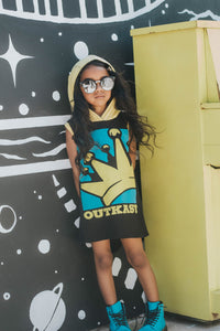 Outcast Hip Hop Romper/Dress/Hoodie