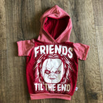 Friends til the End Chucky Halloween Romper/Dress/Hoodie, Hoodie Example