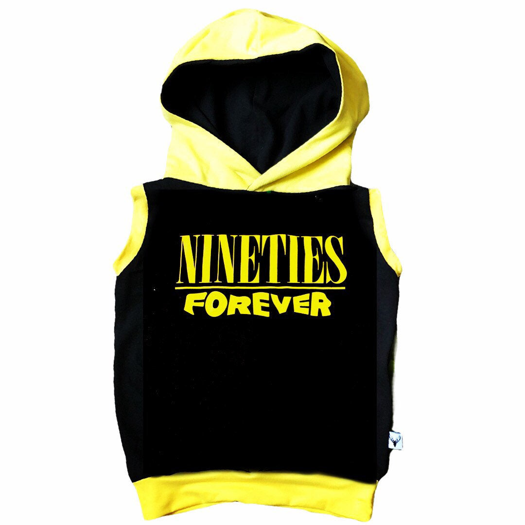 90's Forever Nineties Romper/Dress/Hoodie, Sleeveless Hoodie Option