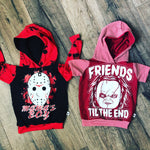 Mamas Boy Friday the 13th Scary Romper/Dress/Hoodie, Hoodie Examples