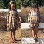 Fall Plaid Romper/Dress/Hoodie