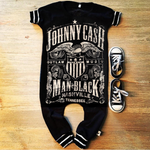 Johnny Cash Classic Country Romper/Dress/Hoodie