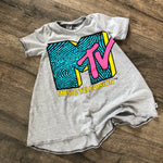 MTV Classic Logo Pop Culture Romper/Dress/Hoodie