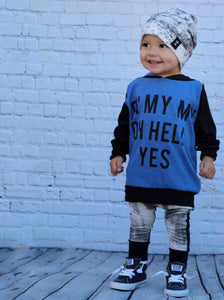 Tom Petty Hell Yes Romper/Dress/Hoodie