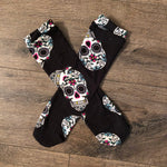Knee High Socks Sugar Skulls