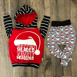 Cotton Headed Ninny Muggins Elf Hoodie Jogger Set