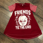 Friends til the End Chucky Halloween Romper/Dress/Hoodie, Dress Example