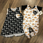 Where the Wild Things Are Crown Pattern Romper/Dress/Hoodie