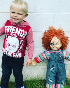 Friends til the End Chucky Halloween Romper/Dress/Hoodie