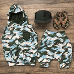 Toy Story Camo French Terry Hoodie Jogger Set