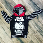 Hello Zombie Hello Kitty Romper/Dress/Hoodie, hoodie