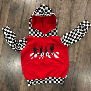 Classic Horror Movies Abbey Road, Halloween Romper/Dress/Hoodie