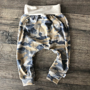 Camo Military Inspired Harem Pants, Shorts and Twirl Skirts