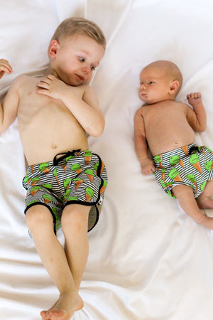 Dino Ice Cream Swim Shorts, Board Shorts, Euro Shorts