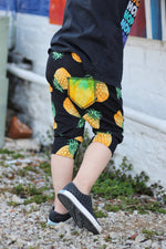Pineapple Harem Pocket Shorts