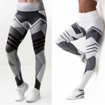 Geometric Yoga Pants