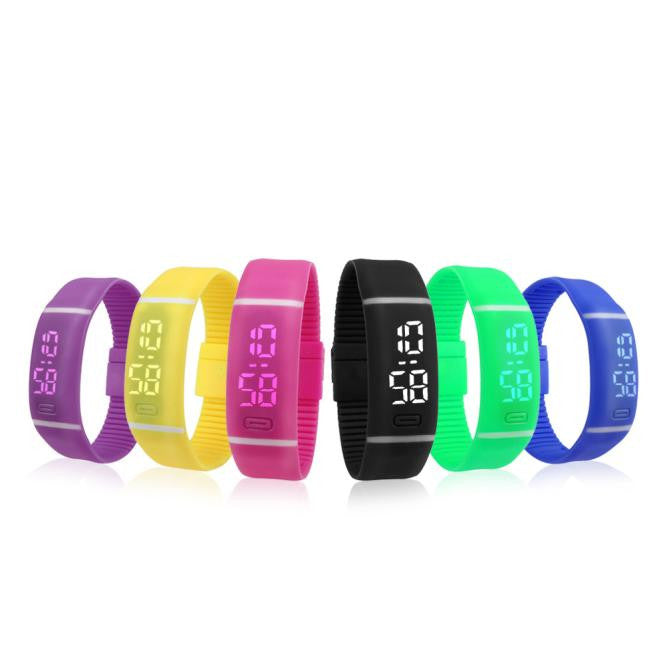 Led Digital Sports Watch (11 colors)