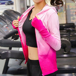 Breathable Long Sleeve Yoga Top With Hood (5 Types)
