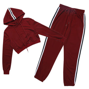 2 Piece Long Sleeve With Hood And Pants (3 Types)