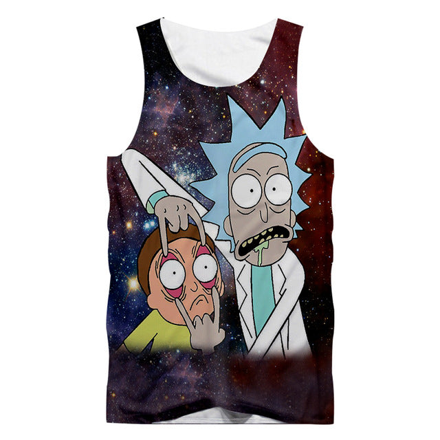 Rick And Morty Space Tank