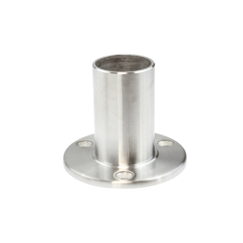 Long Base Plate, 3 Hole, 3.0x50mm tube, Satin