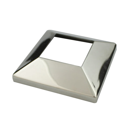 Cover Plate, 50mm square tube, Mirror Polish