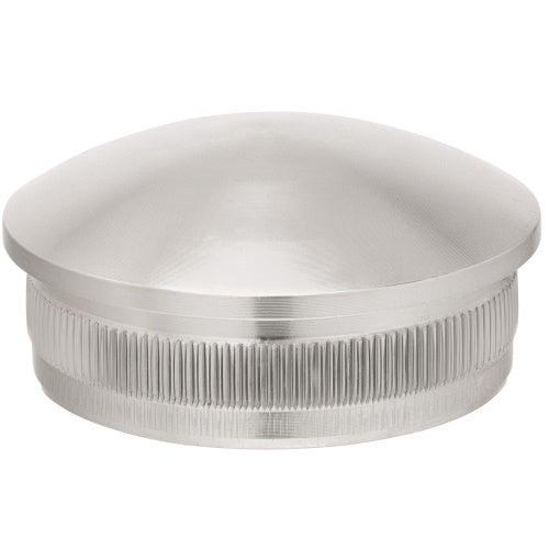 End Cap for 3.0mm x 50.8mm tube. Satin Finish