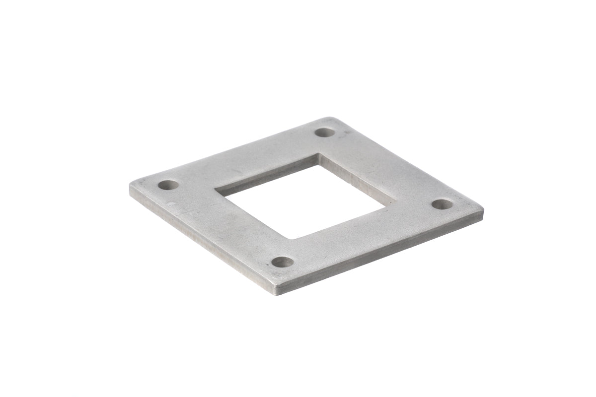 Welded Base Plate for 50.8mm square tube
