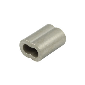 2mm Ferrules : Nickel Plated Copper (creased)