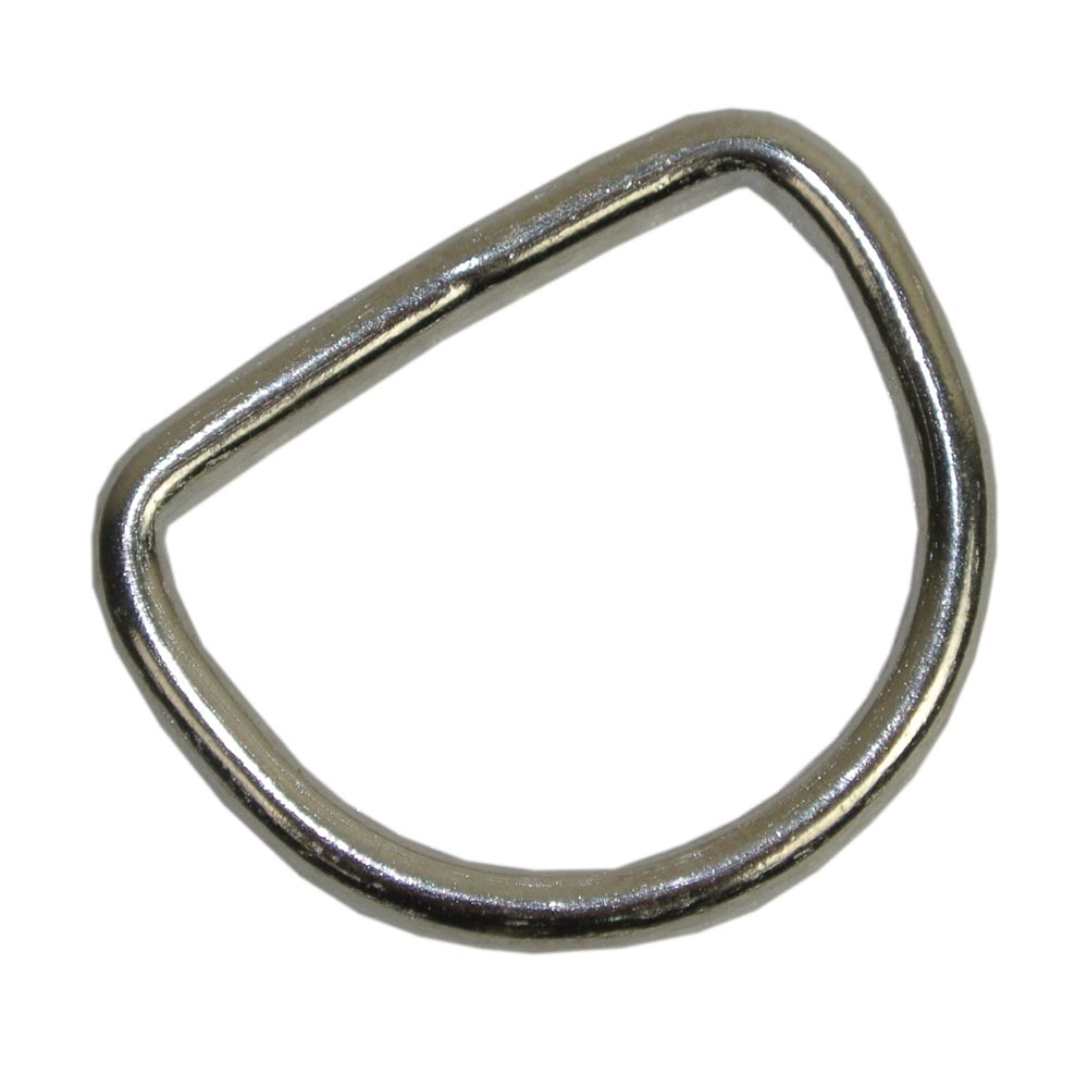 3x20mm D Ring Welded