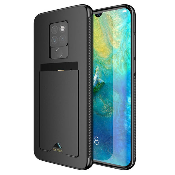 DUX DUCIS Shockproof Anti-slip Card Slot Holder Back Cover Protective Case for Huawei Mate 20