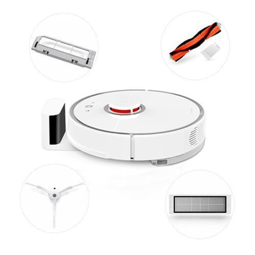 Xiaomi Mi Robot Vacuum Cleaner Robot + 2 x Side Brushes + 2 x Cleaner Filter + 1 x Rolling Brush + 1 x Rolling Brush Cover