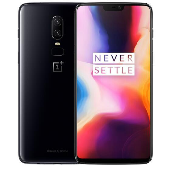 Oneplus 6 Waterproof 4G Smartphone - 6.28 Inch,8GB RAM,128GB ROM,Octa Core,Android 8.1,20MP,NFC - White, EU PLUG