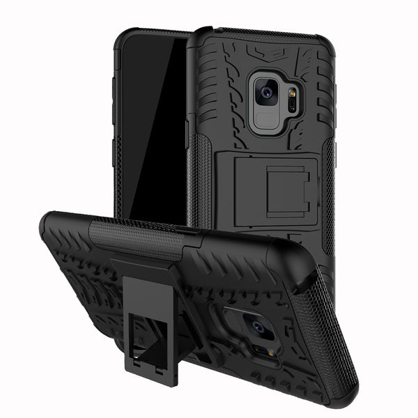 Bakeey 2 in 1 Armor Kickstand TPU PC Protective Case for Samsung Galaxy S9