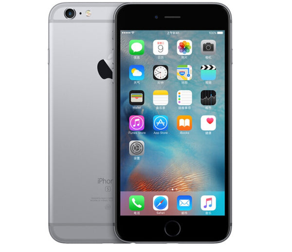 Refurbished Apple iPhone 6 Plus - Gray, 1GB RAM, 64GB ROM, 5.5 Inch, UK-Plug