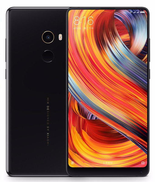 Xiaomi Mi Mix 2 Android Smartphone - Android 7.0, 5.99-Inch Bezel Less, Bluetooth 5.0, 6GB RAM, Snapdragon 835 CPU (Black-64GB)